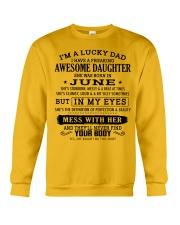 I'm a lucky dad - T06 June Crewneck Sweatshirt thumbnail
