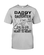 DADDY AND DAUGHTER Classic T-Shirt front
