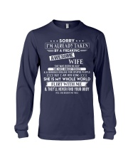 WIFE TO HUSBAND D7 Long Sleeve Tee thumbnail
