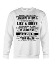 Perfect gift for your loved one - 6 Crewneck Sweatshirt thumbnail
