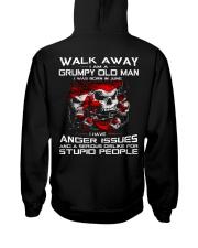 WALK AWAY I AM A GRUMPY OLD MAN - JUNE Hooded Sweatshirt thumbnail