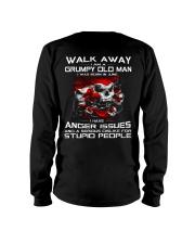 WALK AWAY I AM A GRUMPY OLD MAN - JUNE Long Sleeve Tee back