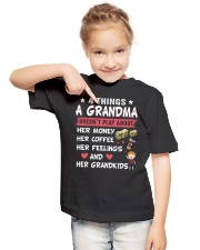 Gifts for GRANDKIDS- 4 things Youth T-Shirt lifestyle-youth-tshirt-front-2