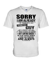 Gift for girlfriend and boyfriend - Kun 00 V-Neck T-Shirt thumbnail