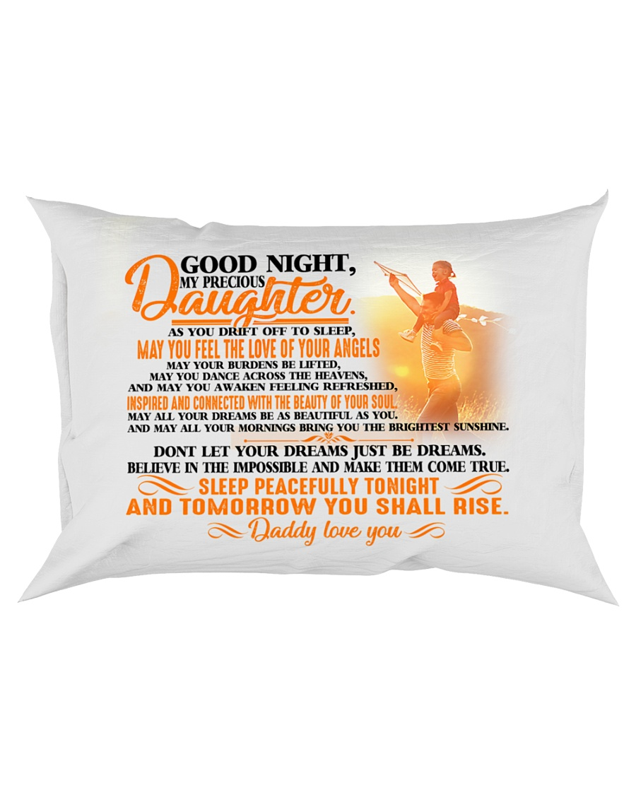 To my dearest daughter - T0 Rectangular Pillowcase