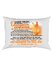 To my dearest daughter - T0 Rectangular Pillowcase front