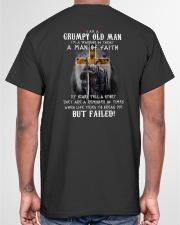 I'm a grumpy old man T0 T4-156 Classic T-Shirt garment-tshirt-unisex-back-04