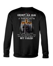 I'm a grumpy old man T0 T4-156 Crewneck Sweatshirt thumbnail