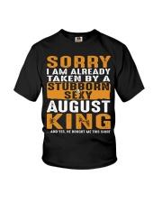 SORRY I AM ALREADY TAKEN - TAM08 Youth T-Shirt thumbnail