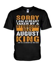 SORRY I AM ALREADY TAKEN - TAM08 V-Neck T-Shirt thumbnail