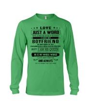 LOVE- BOYFRIEND- H07 Long Sleeve Tee thumbnail