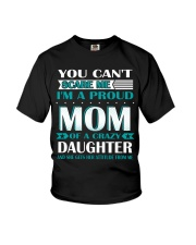 YOU CAN'T SCARE ME I'M PROUD MOM  Youth T-Shirt thumbnail