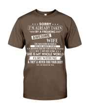 WIFE TO HUSBAND D3 Classic T-Shirt thumbnail