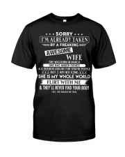 WIFE TO HUSBAND D3 Premium Fit Mens Tee thumbnail