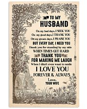 Special gift for husband - C 16x24 Poster front