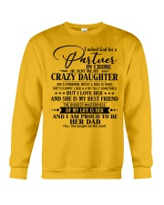 The perfect gift for Daddy - D Crewneck Sweatshirt thumbnail