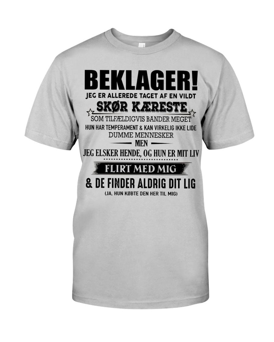 Perfekt gave til kæresten Classic T-Shirt