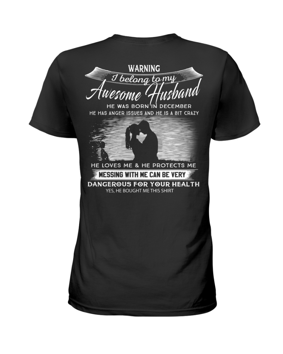 PERFECT GIFT FOR YOUR WIFE - DECEMBER Ladies T-Shirt