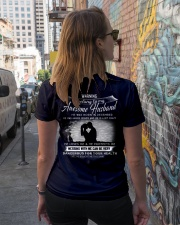 PERFECT GIFT FOR YOUR WIFE - DECEMBER Ladies T-Shirt lifestyle-women-crewneck-back-2