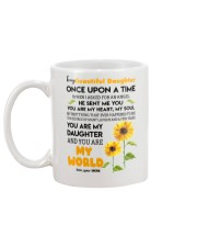 To My Daughter Mug back