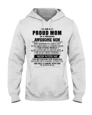 Perfect gift for Mother - Lucky Mom- A00 Hooded Sweatshirt thumbnail