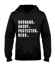 Husband - Daddy - Protector - Hero Hooded Sweatshirt thumbnail