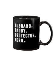 Husband - Daddy - Protector - Hero Mug thumbnail