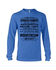 Gift for your Fiancee - Spoiled Fiancee - APRIL Long Sleeve Tee thumbnail