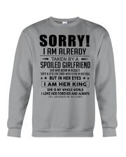 Spoiled Girlfriend H08 Crewneck Sweatshirt thumbnail