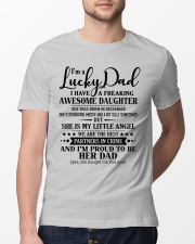 Perfect gift for Daddy-S-12 Classic T-Shirt lifestyle-mens-crewneck-front-13