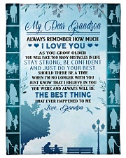 """To my dear grandson never forget that i love you Small Fleece Blanket - 30"""" x 40"""" front"""