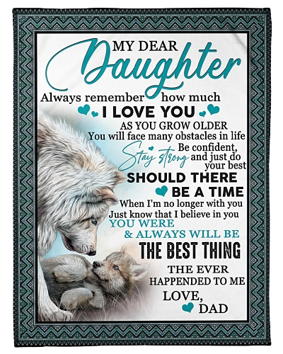To my daughter you always will be the best thing