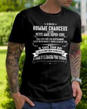 Veinard Avec Fille Merveilleuse - M09 Classic T-Shirt lifestyle-mens-crewneck-front-7