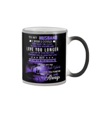TO MY HUSBAND Color Changing Mug color-changing-right