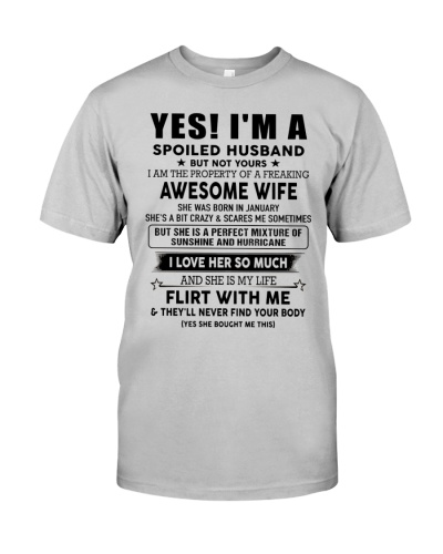 Perfect gift for husband - January