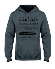 I'm a lucky man - TINH03 Hooded Sweatshirt tile