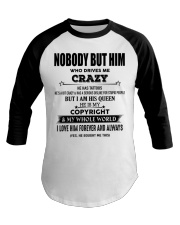 Perfect gift for loved one- Nobody but you- tattoo Baseball Tee thumbnail