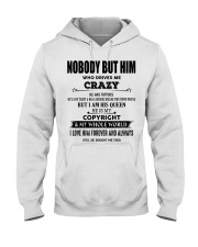Perfect gift for loved one- Nobody but you- tattoo Hooded Sweatshirt tile