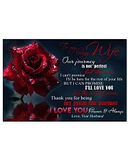 Special gift for your wife  24x16 Poster front