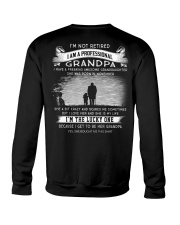 I'M NOT RETIRED I'M A PROFESSIONAL GRANDPA - K11 Crewneck Sweatshirt thumbnail