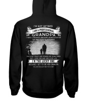 I'M NOT RETIRED I'M A PROFESSIONAL GRANDPA - K11 Hooded Sweatshirt thumbnail