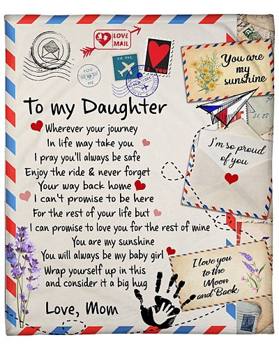 Special blanket for daughter - C