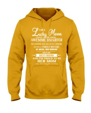 I am a Lucky Mom- I have an Awesome Daughter- Kun  Hooded Sweatshirt thumbnail