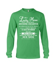 I am a Lucky Mom- I have an Awesome Daughter- Kun  Long Sleeve Tee thumbnail