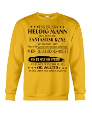 Heldig mann - T06 Juni Crewneck Sweatshirt thumbnail