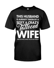 SEXY AND CRAZY TATTOOED WIFE Classic T-Shirt thumbnail