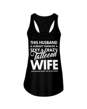SEXY AND CRAZY TATTOOED WIFE Ladies Flowy Tank thumbnail