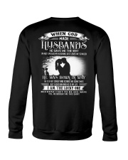 Perfect gift for your Wife - T05 Husband Crewneck Sweatshirt thumbnail