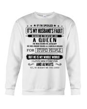 I am spoiled wife - Gift for wife CTUS01 Crewneck Sweatshirt thumbnail