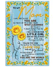 Special gift for MOM - DAUGHTER 11x17 Poster front